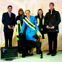 Junior Kennel Club of Victoria 2012 - Handlers